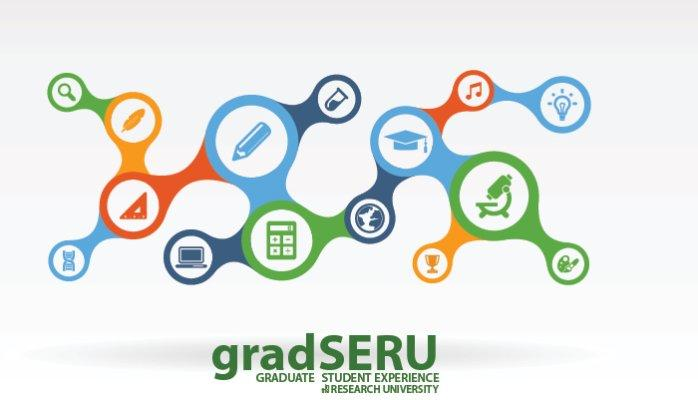 Logo for gradSERU - Graduate Student Experience in the Research University