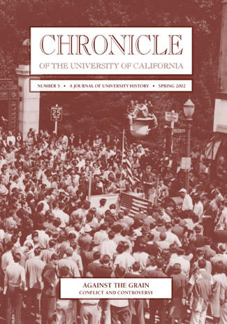 Chronicle of the University of California Issue 5 Cover