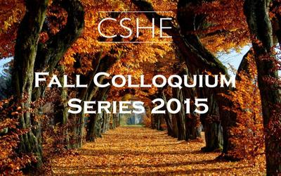Fall Colloquium Series 2015 header