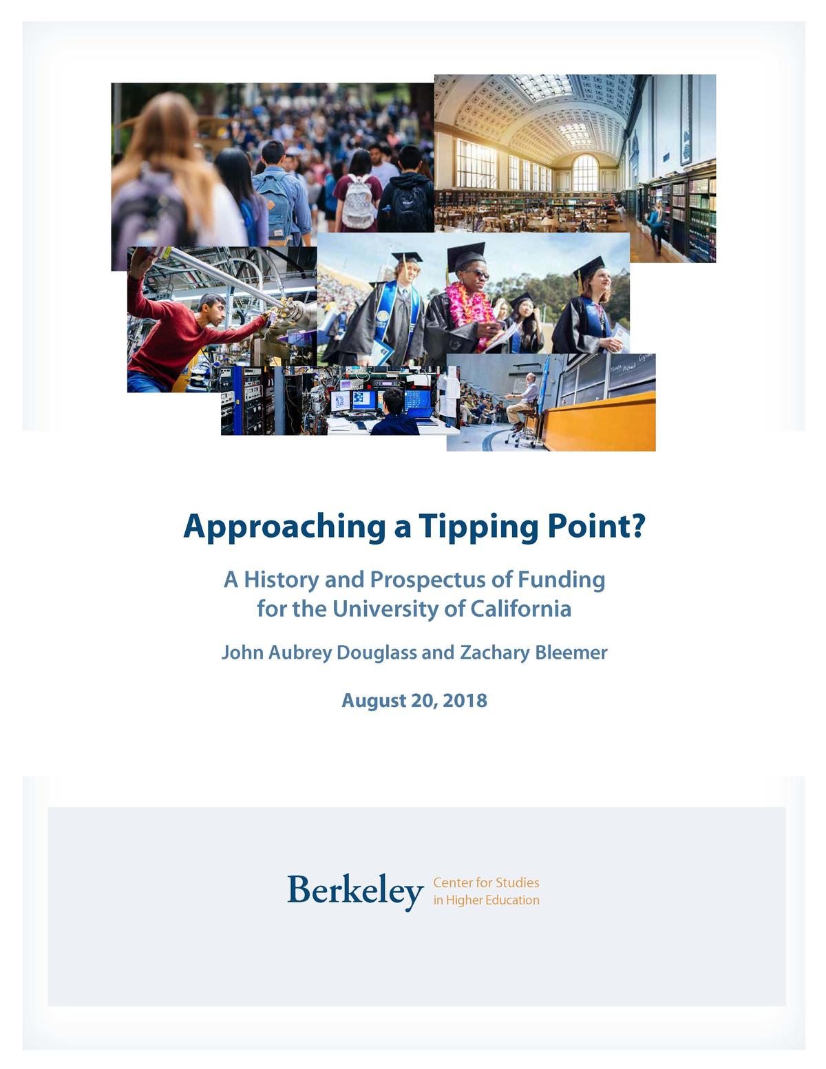 Approaching a Tipping Point Report Cover