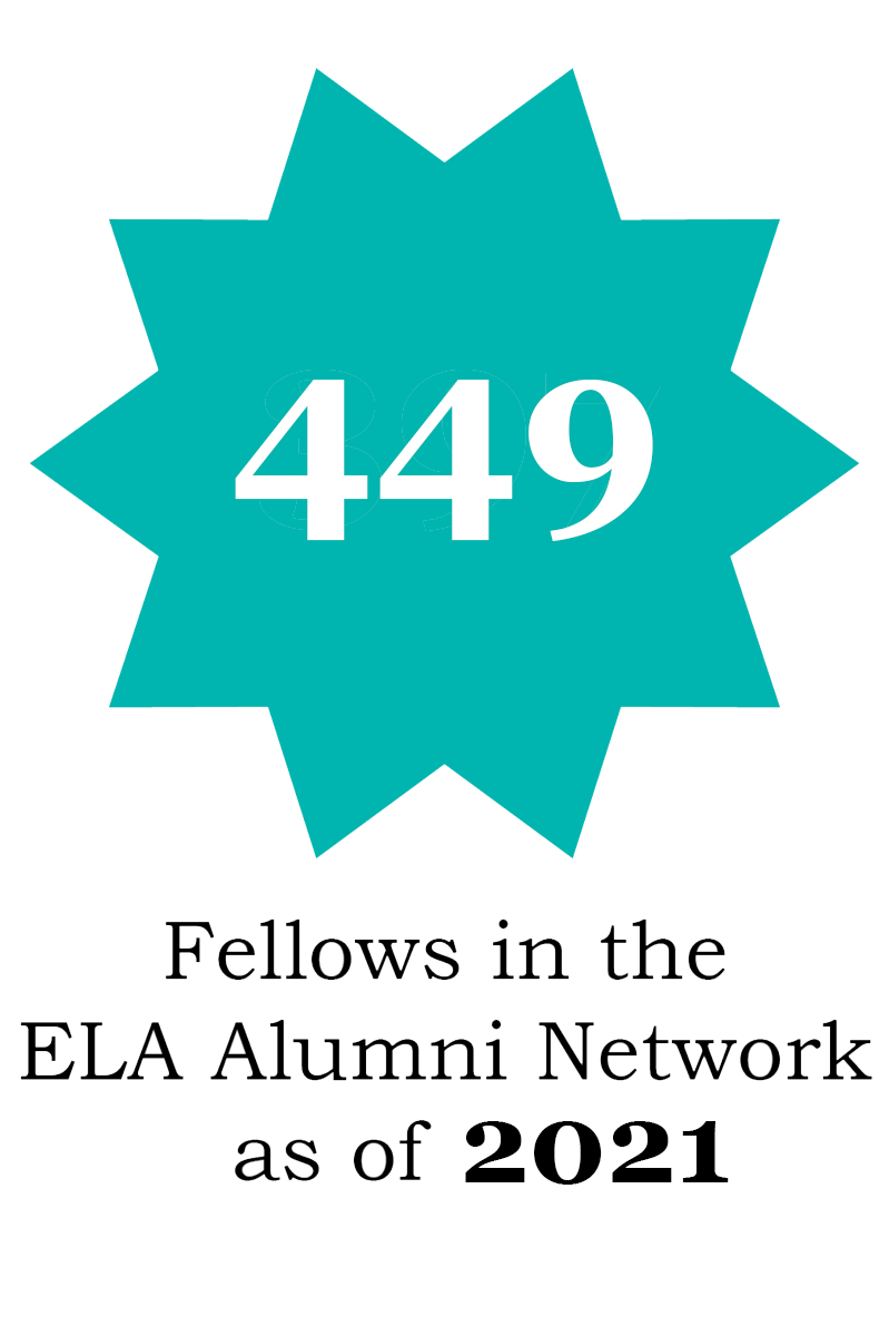449 fellows in the alumni network as of 2021