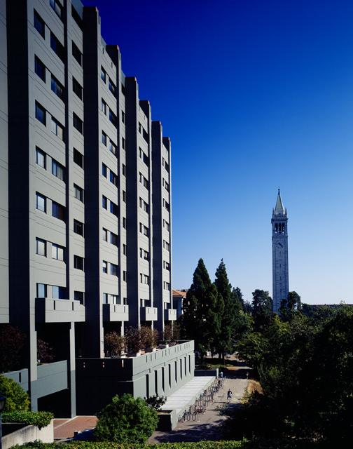 Evans Hall and the Campanile