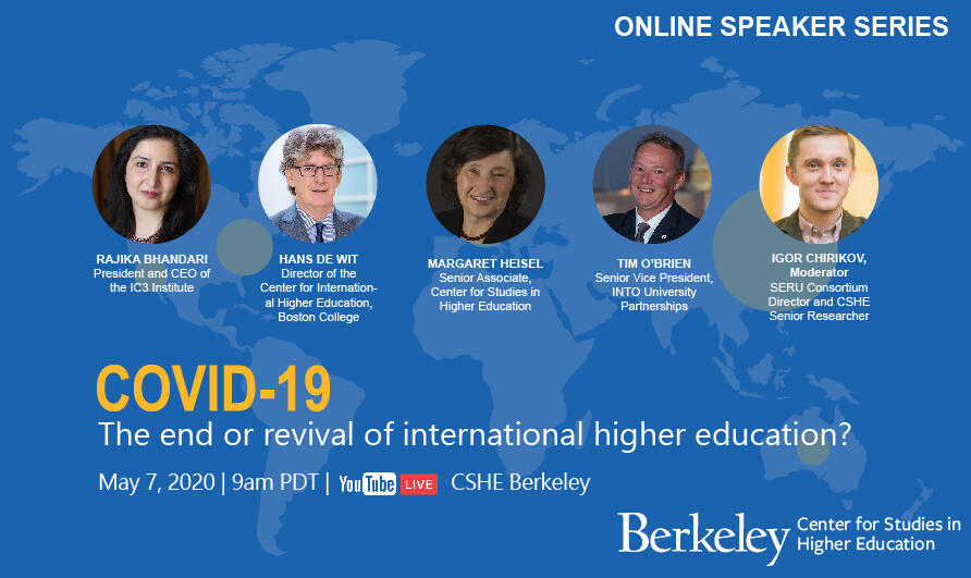 The end or revival of international higher education Youtube link