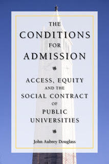 The Conditions for Admission Access, Equity, and the Social Contract of Public Universities