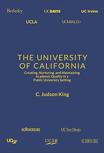 University of California Book by  Jud King