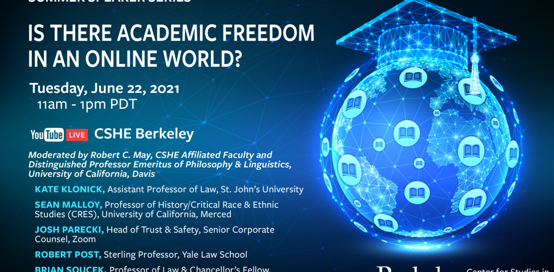 Is there Academic Freedom in an Online World? Graphic
