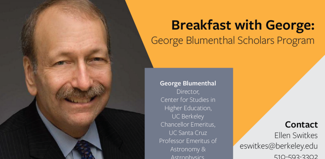 George Blumenthal Scholars Program