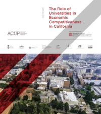 The Role of Universities in Economic Competitiveness in California Book Cover