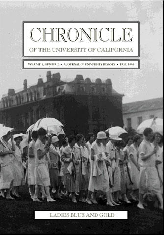 Chronicle of the University of California Issue 2 Cover