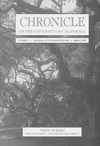 Chronicle of the University of California Issue 3 Cover
