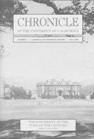 Chronicle of the University of California Issue 4 Cover