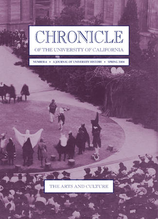 Chronicle of the University of California Issue 6 Cover