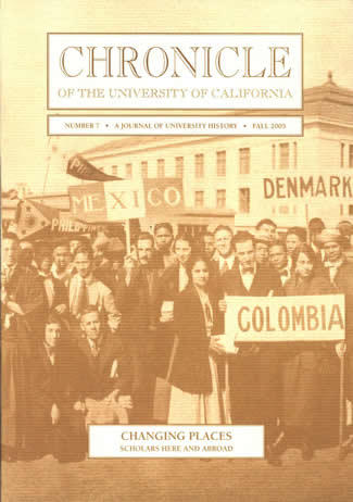 Chronicle of the University of California Issue 7 Cover