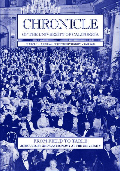 Chronicle of the University of California Issue 8 Cover